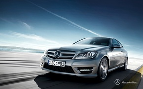 Wallpaper C204, 2011, Mercedes-Benz, C-class, Mercedes