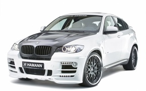 Wallpaper white, BMW, Hamann