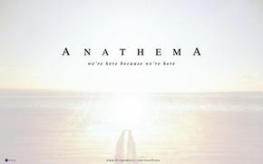 Wallpaper 2010, album, Anathema, progrock, we're here because we're here