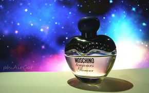 Picture space, perfume, space, the smell, glamour, aroma, moschino