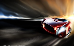 Wallpaper Energy, auto, speed