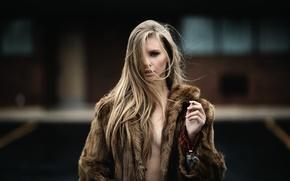 Picture look, coat, cigarette, Jesse Duke, Marissa