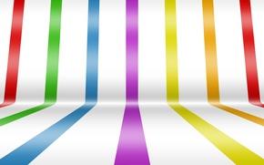 Picture white, line, strip, rainbow
