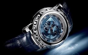 Picture watch, Ulysse Nardin, Freak, Blue Phantom