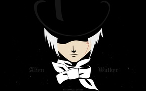 Picture black, hat, anime