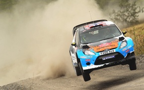 Picture Ford, Auto, Dust, Sport, Machine, Speed, Ford, Race, The hood, WRC, Rally, Rally, Fiesta, Fiesta, …