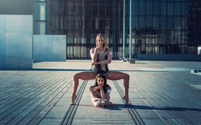 Picture the city, grace, gymnasts