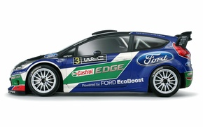Picture Ford, Profile, WRC, Rally, Fiesta