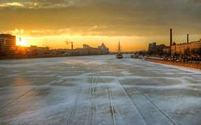 Picture Saint Petersburg, Neva, February