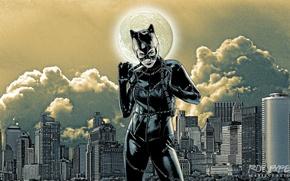 Picture desktop, wallpaper, photomanipulation, dc comics, catwoman, selina kyle