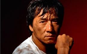 Picture portrait, actor, Chan, martial arts, Jackie
