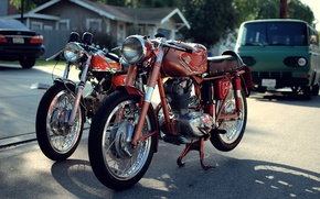 Picture vintage, ducati, classic, supersport, 175