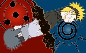 Picture Anime, uchiha sasuke, naruto Uzumaki