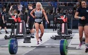 Wallpaper competitor, Sara Sigmundsdottir, Reebok CrossFit Games, tiredness, fatigue, blonde