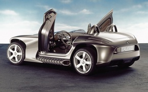 Wallpaper Outdoor, Mercedes, The concept