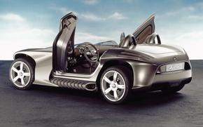 Wallpaper Mercedes, The concept, Outdoor