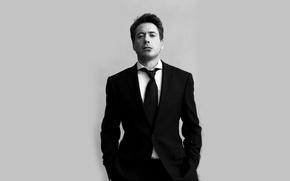 Picture look, background, costume, actor, Robert John Downey Jr., Robert John Downey Jr.