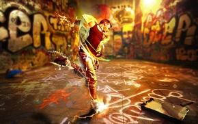 Picture street, paint, graffiti