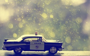 Picture car, machine, toy, police, Board, car, police, toy