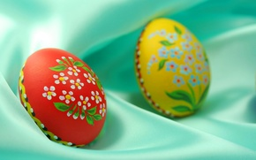 Wallpaper shell, gift, Easter, eggs, colored, painting, painting, attribute