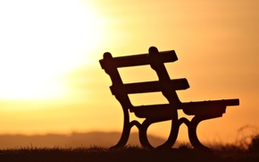 Picture sunset, bench, background, widescreen, Wallpaper, mood, silhouette, shop, shop, wallpaper, bench, sunset, widescreen, background, bench, …