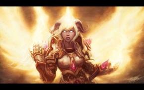 Picture WoW, World of Warcraft, Paladin, Paladin, Draenei, Yrel, Yrel, Drenaka