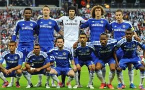 Picture Chelsea FC, Champions League Final, Chelsea FC