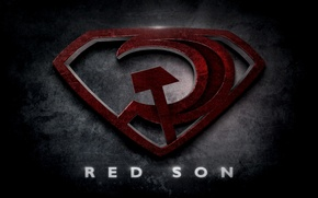Picture Superman, Superman, red son, red son