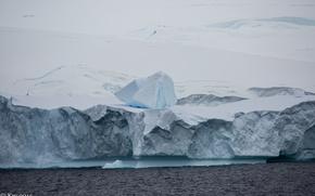 Picture ice, glacier, iceberg, Antarctica