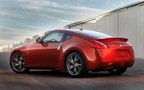 Picture coupe, yard, Nissan, 350Z