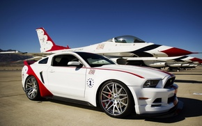 Picture Ford, USAF, Mustang GT, 2014, Thunderbirds Edition