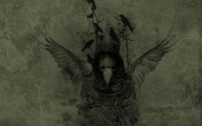 Picture Raven, momento mori, godgory
