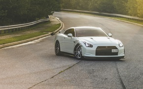 Picture nissan, white, gtr, r-34