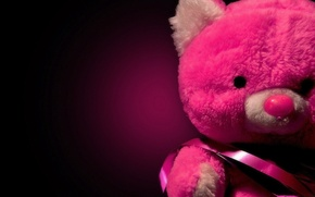 Picture red, Shine, red, sad, teddy bear, sad, Teddy bear, shine