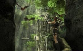 Picture Tomb Raider, caves, Lara