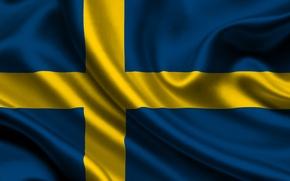 Picture flag, Sweden, sweden