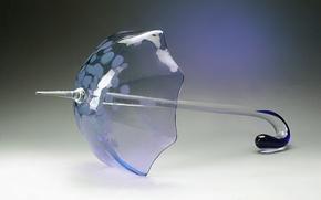 Picture glass, umbrella, crystal, decor, Gus ' -Khrustal'nyy