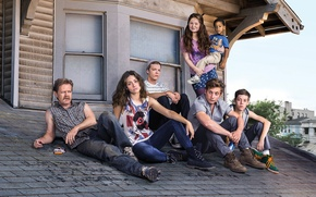 Picture Emmy Rossum, Shameless, Jeremy Allen White, Emma Kenney, William H. Macy, Cameron Monaghan, Ethan Cutkosky, …