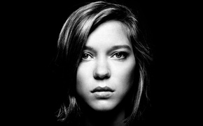 Picture background, portrait, Lea Seydoux, Lea Seydoux