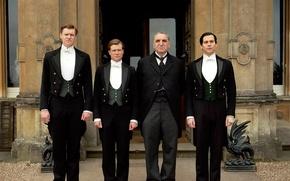 Picture the series, drama, servants, Downton Abbey