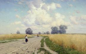 Wallpaper picture, Krysinski, Road
