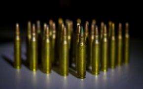 Picture macro, cartridges, 5.56 cartridges
