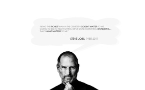 Wallpaper RIP, Steve Jobs, a genius of our time