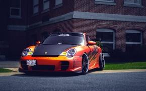 Picture Porsche, Porsche, GT3, 991, frontside