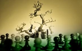 Picture creative, chess, figure