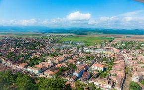 Picture the city, panorama, panorama, town, Romania, Romania