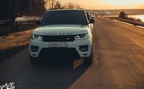 Picture machine, auto, photographer, Range Rover, promenade, auto, photography, photographer, Vladimir Smith, Vladimir Smith, Kaluga