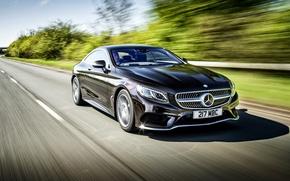Picture Mercedes-Benz, Mercedes, AMG, Coupe, UK-spec, 2014, S 500, C217