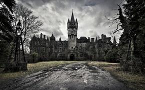 Picture castle, Castle of Decay, dark