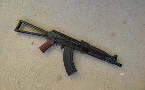 Picture background, machine, Kalashnikov, The AKS-74
